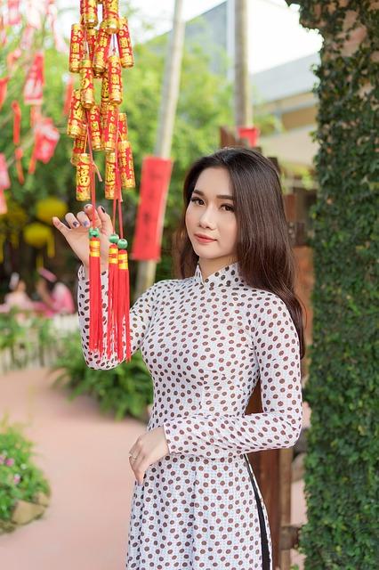 アジア系の女性