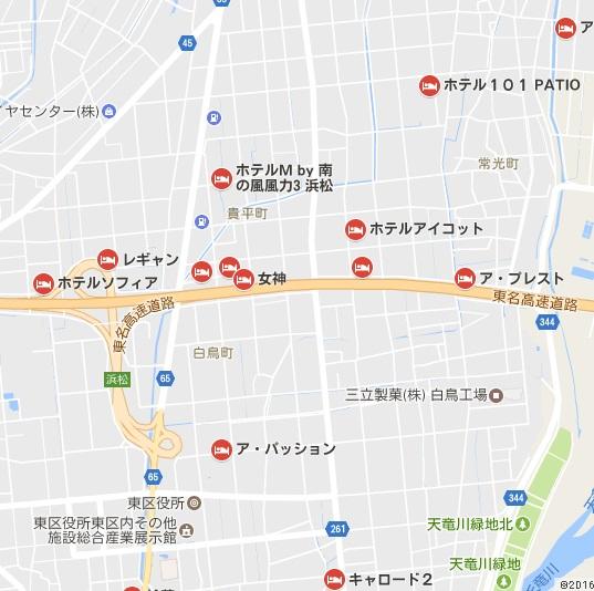 浜松マップ
