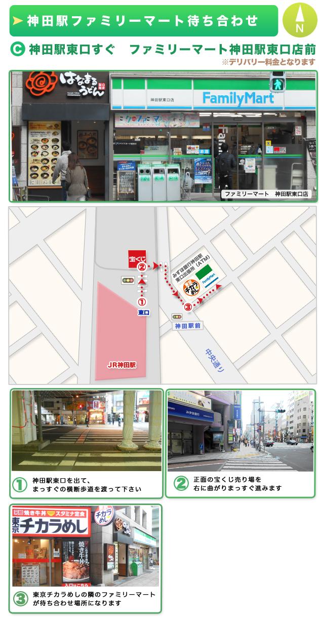 神田駅東口ファミリーマート