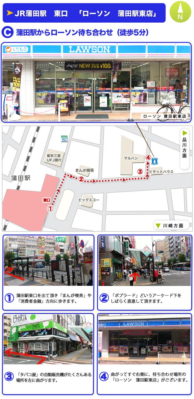 ローソン蒲田駅東店前