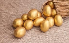 金色のたまご