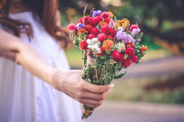 愛をこめた花束を