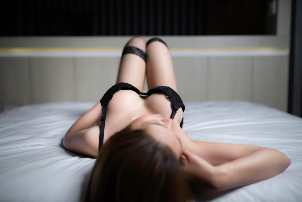 横浜の巨乳の女性