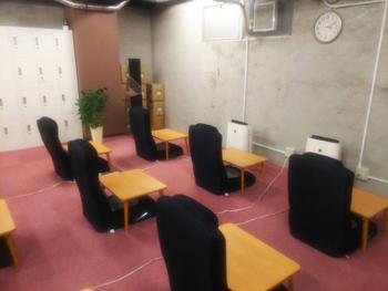 ごほうびSPA広島店 待機場所1