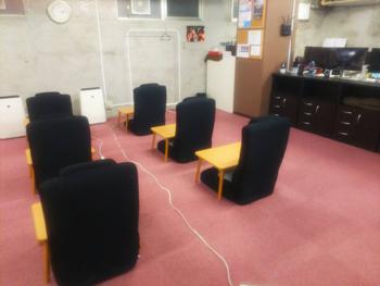 ごほうびSPA広島店 待機場所2