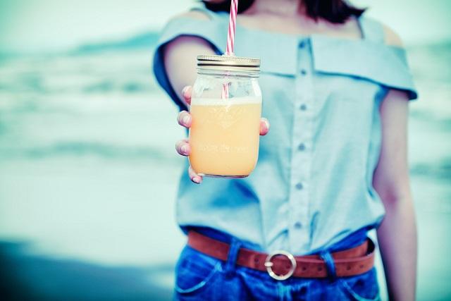 瓶詰ジュース